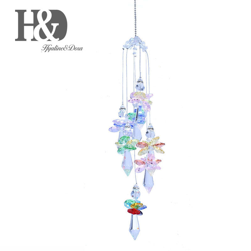 Hanging Crystal Angel Sun Catcher-ToShay.org