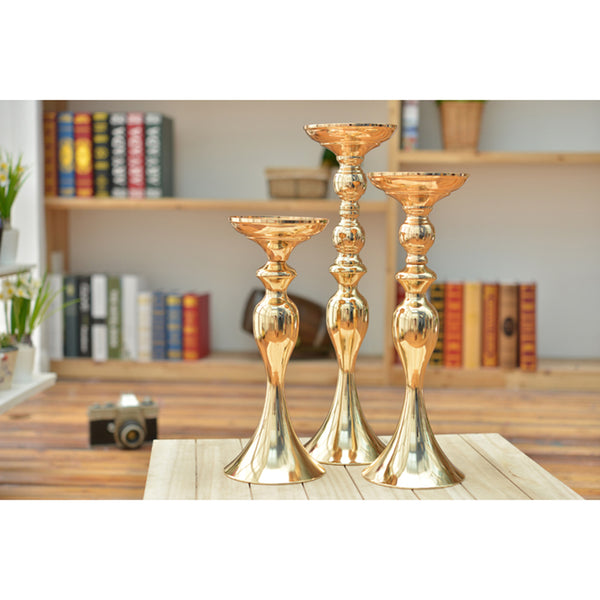 Gold Candle Stands-ToShay.org