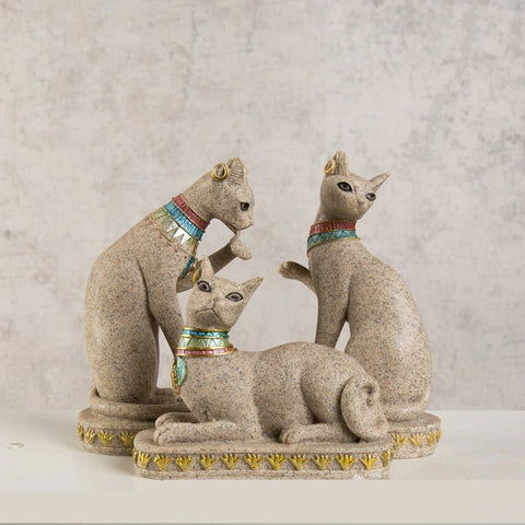 Egypt Cat Statue-ToShay.org
