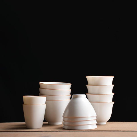 Dehua White Tea Cups-ToShay.org