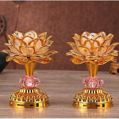 Lotus Flower LED Lanterns-ToShay.org