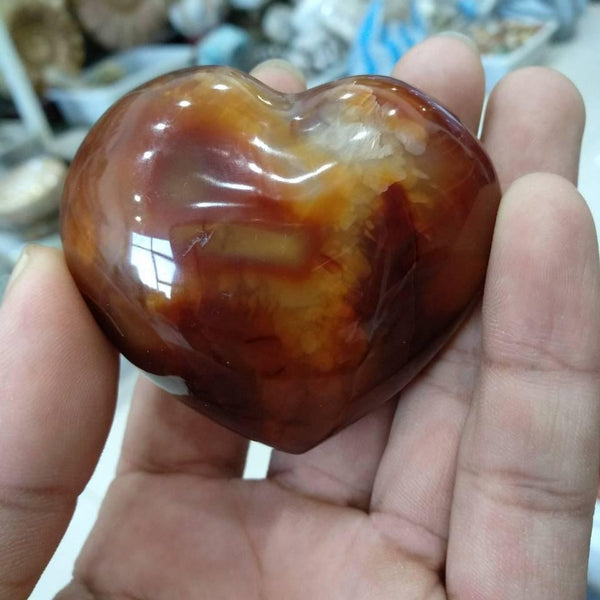 Agate Crystal Heart-ToShay.org