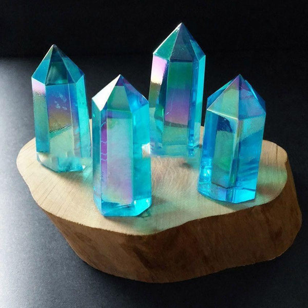 Mixed Angel Aura Crystal Points-ToShay.org