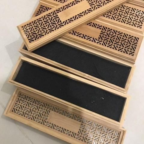 Bamboo Drawer Box-ToShay.org