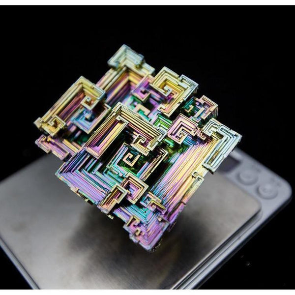 Silver Bismuth Crystal Cluster-ToShay.org