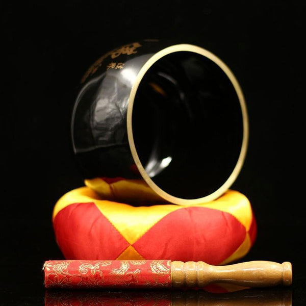 Black Copper Singing Bowl-ToShay.org