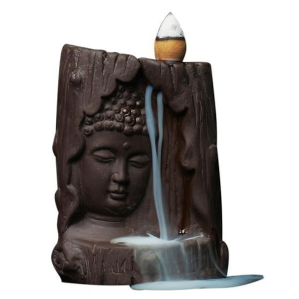 Buddha Backflow Incense Burner-ToShay.org