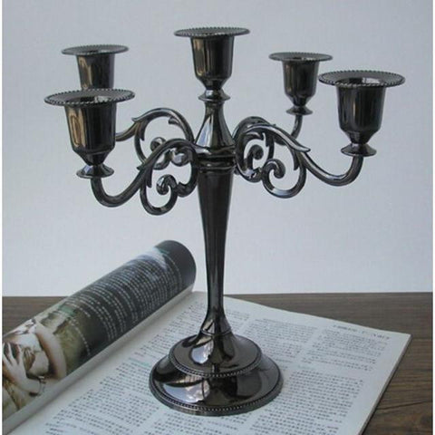 Candelabra 5 Arm Candle Holder-ToShay.org