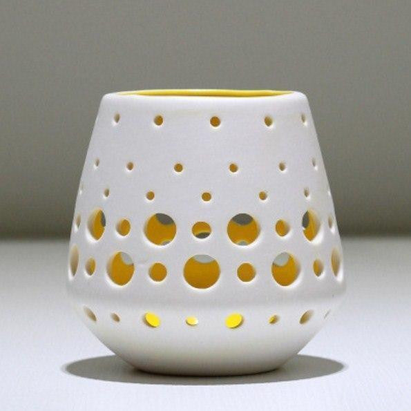 Ceramic Candle Holder-ToShay.org