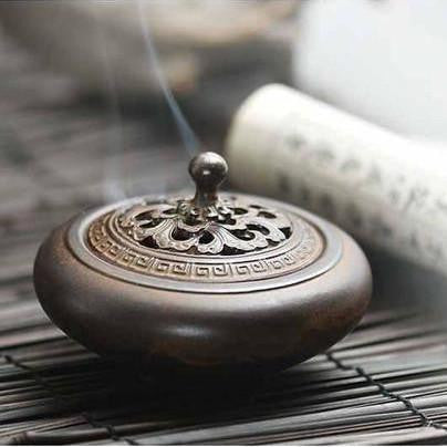 Ceramic Plate Incense Burner-ToShay.org