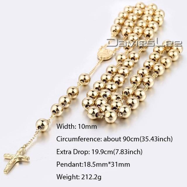 Chain Crown Rosary Beads-ToShay.org