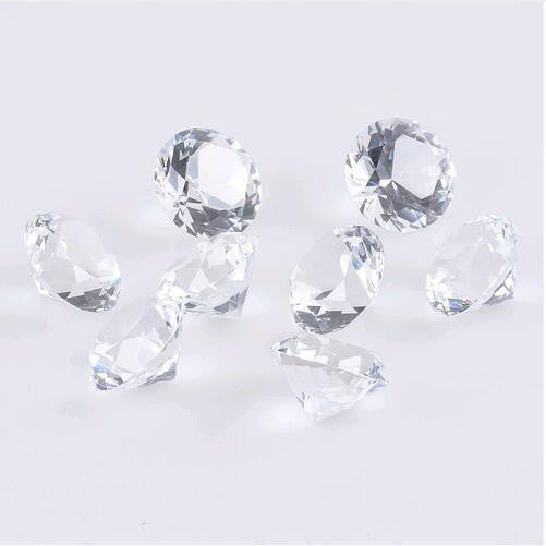 Clear Crystal Diamond 20mm-ToShay.org