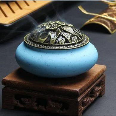 Colour Ceramic Incense Furnace-ToShay.org