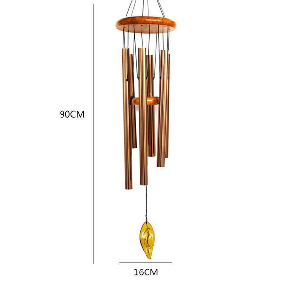 Copper Wind Chimes-ToShay.org