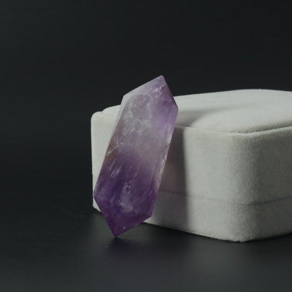 Crystal Amethyst Double Wand Points-ToShay.org