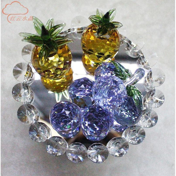 Crystal Fruit Plate-ToShay.org