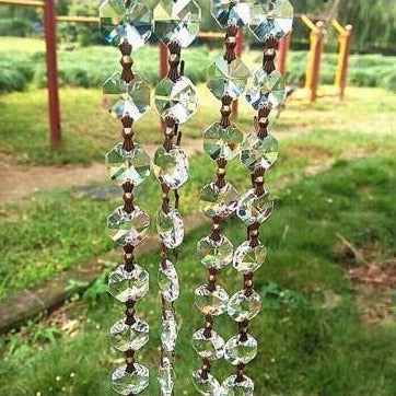 Clear Crystal Bead Chain-ToShay.org