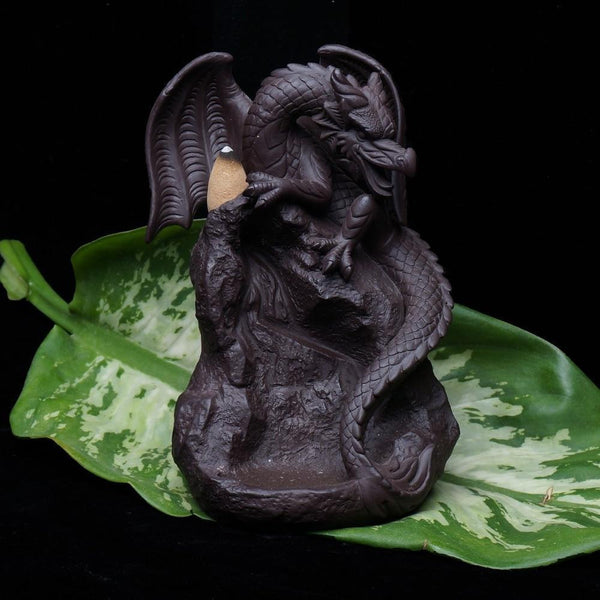 Dragon Backflow Incense Burner-ToShay.org