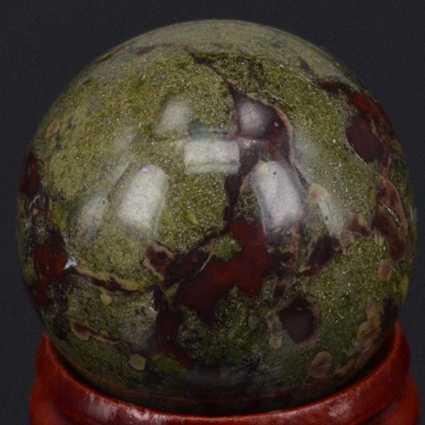 Dragon Bloodstone Ball-ToShay.org