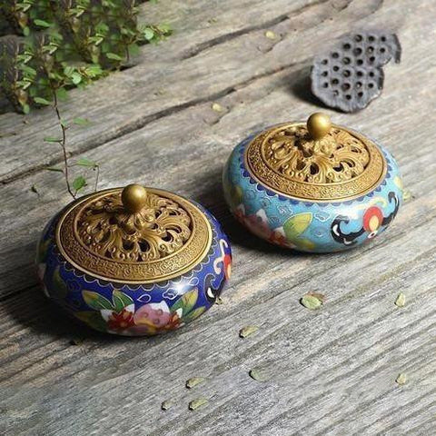Enamel Incense Burner-ToShay.org