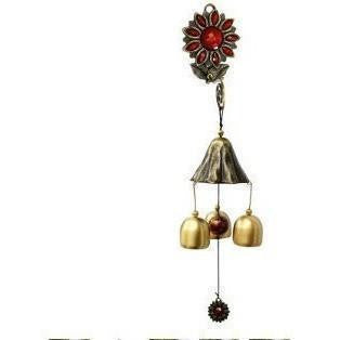 Flower Wall Mounted Wind Chimes-ToShay.org