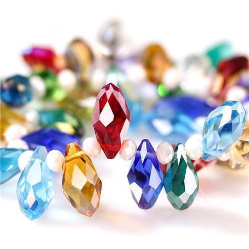 Glass Crystal Waterdrop Beads-ToShay.org