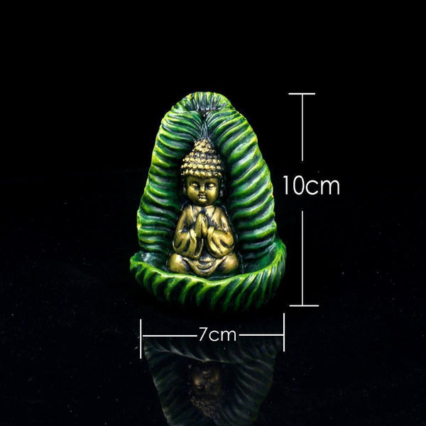 Green Buddha Incense Burner-ToShay.org
