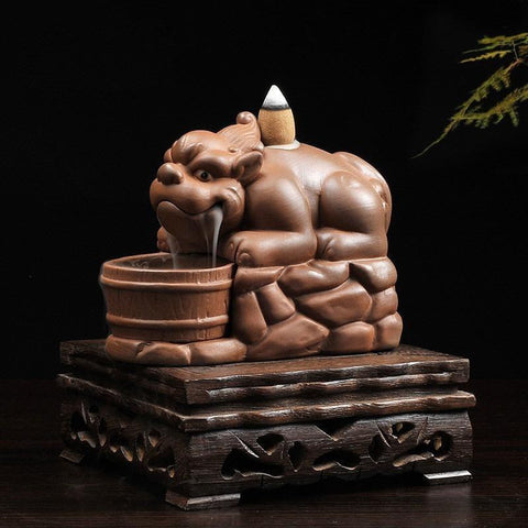 Guardian Lion Incense Burner-ToShay.org