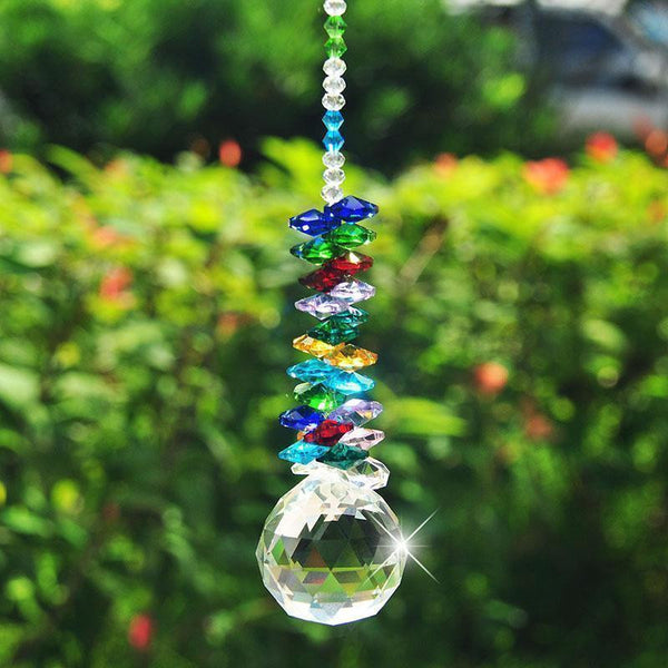 Hanging Crystal Ball Suncatchers-ToShay.org