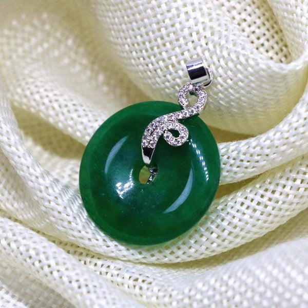 Jade Coin Pendant-ToShay.org
