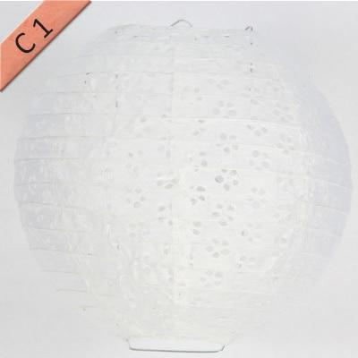 Lace Round Paper Lantern-ToShay.org