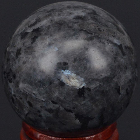 Black Moonstone Larvikite Ball-ToShay.org