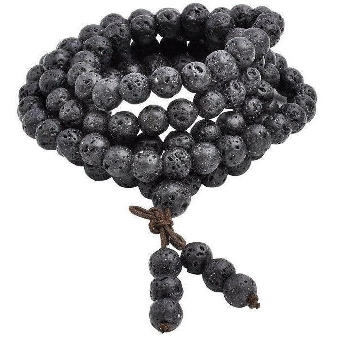 Lava Rock Prayer Beads-ToShay.org