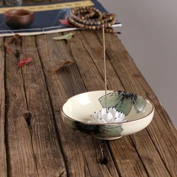 Lotus Bowl Incense Holder-ToShay.org