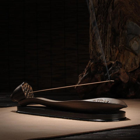 Lotus Incense Stick Holder-ToShay.org