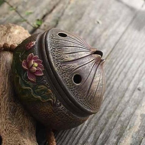 Lotus Flower Incense Burner-ToShay.org