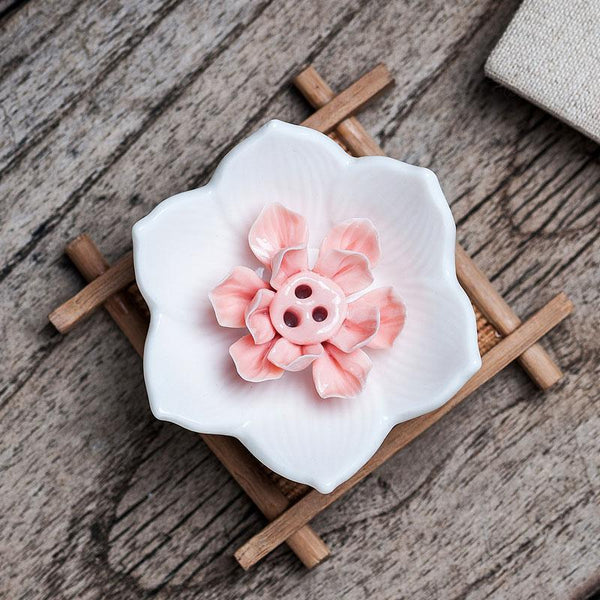 Lotus Flower Incense Stick Holder-ToShay.org