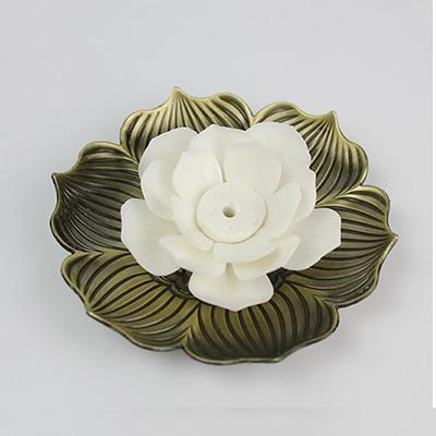 Lotus Flower Stick Incense Holder-Incense Stick Holder-ToShay.org