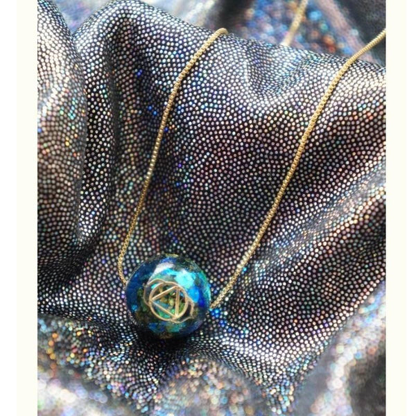 Chakra Energy Ball Pendant Necklace-ToShay.org