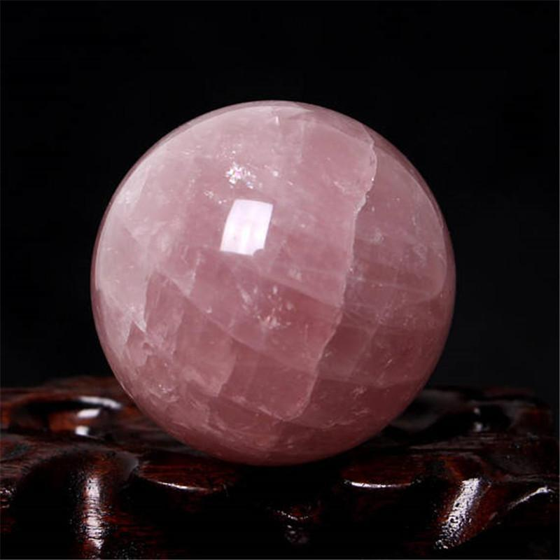 Pink Rose Crystal Ball-ToShay.org