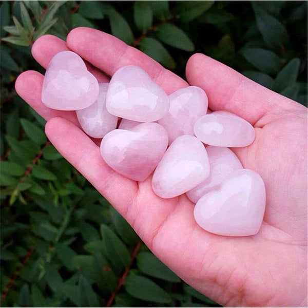 Pink Rose Quartz Hearts-ToShay.org