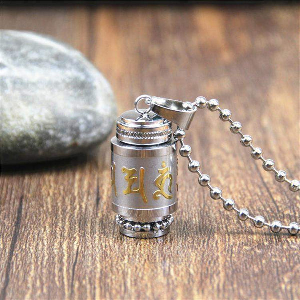 Prayer Wheel Pendant-ToShay.org