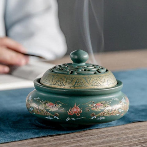 Ceramic Porcelain Incense Burners-ToShay.org