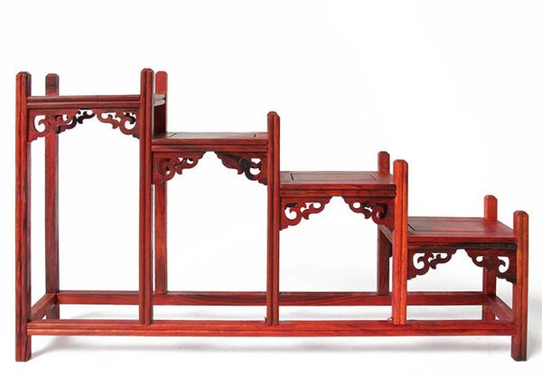 Mahogany Carved Shelf-ToShay.org