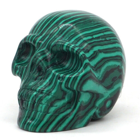 Green Turquoise Skull-ToShay.org