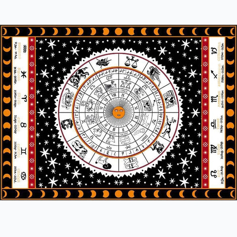 Astrology Wall Hanging-ToShay.org