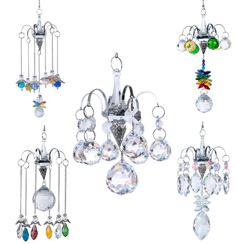 Crystal Hanging Chandelier-ToShay.org