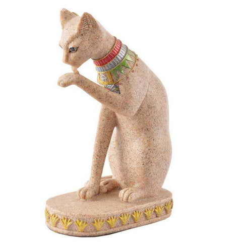 Egyptian Cat Bast Statue-ToShay.org