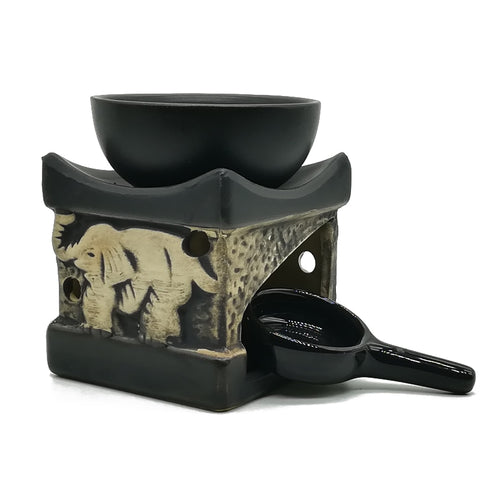 Black Elephant Oil Burner-ToShay.org