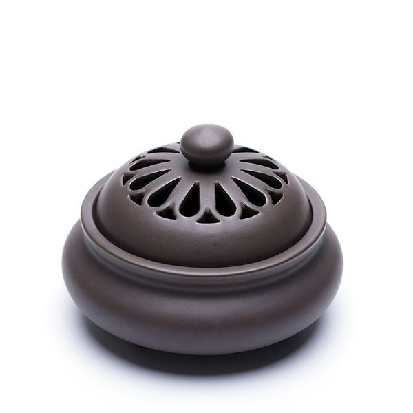 Hollow Ceramic Incense Burner-ToShay.org